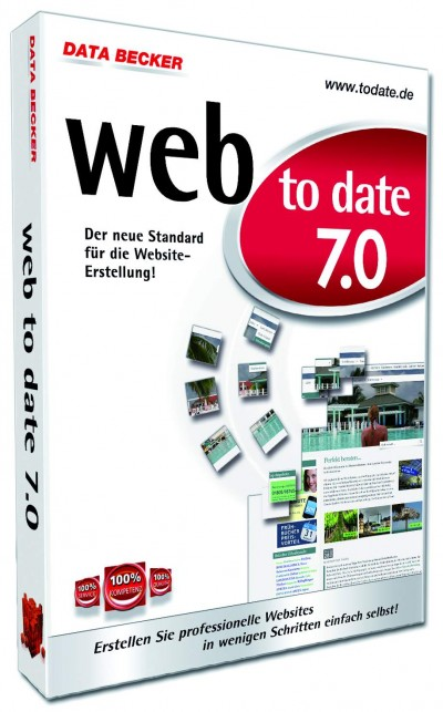 web to date 7.0 von data becker